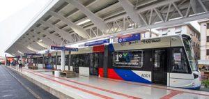 13 Plataformas de Embarque de Passageiros do VLT da Baixada Santista
